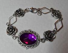 Markenlose versilberte Modeschmuck-Armbänder Diamant