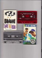 Fresh Prince DJ Jazzy 2 Cassette Singles Boom Shake Room Wanna Rock Will Smith
