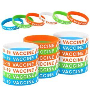 24 Pack Silicone Health Awareness Bracelet Wristband Rubber Bracelet Jewelry