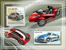 CITROEN 2CV Concept (T-Rex/Peugeot Concours) Car Stamp Sheet (2009 Mozambique)