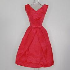 Vintage Barbie Silk Campus Belle Pak Dress Rose Pink 1964