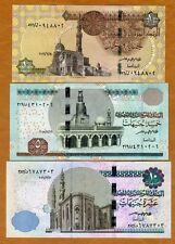 SET Egypt, 1;5;10 Pounds, 2015-2016, P-New, UNC > New Security Features