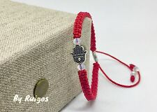 Red Hamsa Bracelets , Handmade Red Strong Bracelets