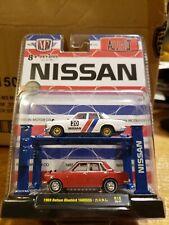 M2 MACHINES AUTO LIFT 1969 DATSUN BLUEBIRD (WHITE/RED) NISSAN