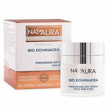 Nat'Aura NATURAL Freshening Day Cream For Face And Eye Contour 20+ Organic Oils