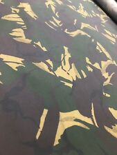 Camo Waxed Cotton Canvas Fabric Material Waterproof Breathable Berber Oilskin