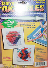 Janlynn Tuckables 22-55 Balloon + Fish Textured Pictures in Yarn Craft Kit Board