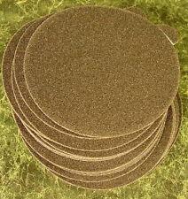 "100pc 5"" PSA STICK ON SANDPAPER DISC 320 GRIT USA Made da sand paper sanding pel"