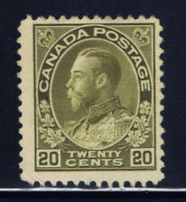 Canada #119(1) 1912 20 cent olive green KING GEORGE V MNH CV$100.00