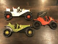 HOMCO Cast Iron Metal Vintage Car Wall Hanging Set Of 3