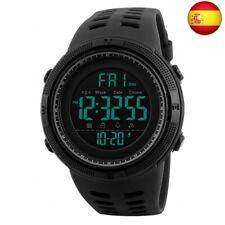 Reloj Digital para Hombre - 50M impermeable Deportivo Relojes de pulsera Prueba
