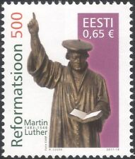 Estonie 2017 Martin Luther/Reformation/Bible/STATUE/religion/personnes 1 V (n45988)