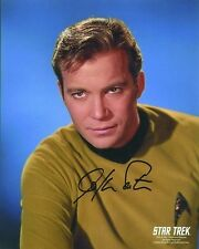 STAR TREK WILLIAM SHATNER AUTOGRAPHED PHOTO Captain Kirk 2001  SIGNED