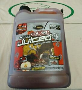Wildgame Innovations Apple Crush Juiced Sweet & Salty Instant Mineral Lick 1gal.