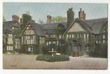 Ascott House Wing Buckinghamshire Vintage Postcard 847b