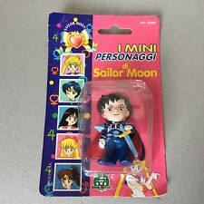 1992# SAILOR MOON MINI BANDAI ACTION FIGURES#MOSC CARDED RARE