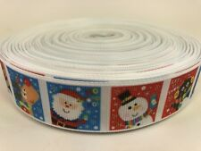 By The Yard Christmas Characters Printed One Sided Grosgrain Ribbon.... Lisa