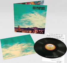 NOEL GALLAGHER LP Who Built The Moon? BLACK VINYL Gatefold + Promo Sht OASIS New