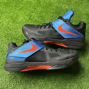Nike KD 4 IV SZ 14 OKC THUNDER AWAY Weatherman Aunt Pearl Kevin Durant BHM
