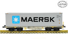 Rocky-Rail 40132 Sgmmns 40 m. Container Maersk (AC) ++ NEU in OVP