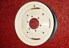 One New Oliver Front Tractor Tire Wheel Rim 3x15 6 Hole