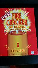 Penrose Fire Cracker Original Red Hot Pickled Sausage 50ct - 0.875 oz Packages
