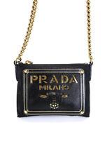 Prada Womens Nylon Leather Cutout C