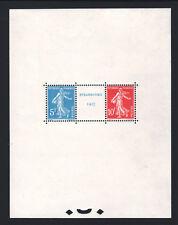 "FRANCE BLOC FEUILLET 2 "" EXPOSITION STRASBOURG 1927 "" NEUF xx LUXE A VOIR R912"