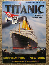 11 1/4 x 16 TITANIC SIGN autographed IP  by YOUNGEST SURVIVOR MILLVINA DEAN -COA