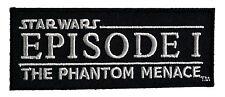 Star Wars - Film Logo - Episode 1 Die dunkle Bedrohung - Uniform Patch Aufnäher