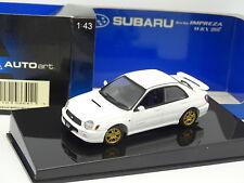 Auto Art 1/43 - Subaru Impreza WRX STI 1999 Blanche