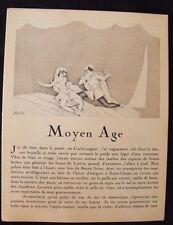 Charles Martin  Histoire du Moyen-Age 1924  Texte M. Astruc  Gazette Bon Ton