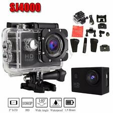 WATERPROOF SPORTS ACTION CAMERA GOPRO OUTDOOR HELMET BIKE SKI SKATE SURF TRAVEL