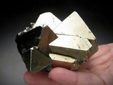 Octahedral Pyrite Crystals, Huanzala, Peru
