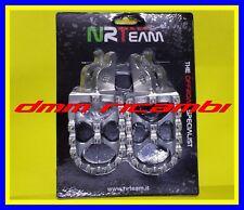 Pedane poggiapiedi maggiorate in ergal NRTEAM HONDA CR 125 250 R 04>05 2004 2005