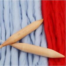 Jumbo Giant Thickness Wood Knitting Needle Chunky Bulky Yarn 20mm Tool D