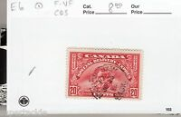 Canada 1935 #E6 Θ used F/VF Special Delivery. cds Moose Jaw, Saskatchewan