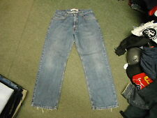 "Levi's 569 Relaxed Straight Jeans Waist 33"" Leg 30"" Faded Medium Blue Mens Jeans"