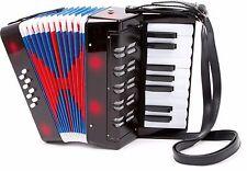 Akkordeon Classic für Kinder Musik Instrument Zieharmonika Musikinstrument Neu