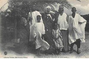 Senegal. N° 51196. Dakar. Family Of Cultivator