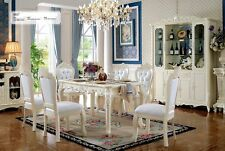 Baroque Style Dining Room Table Chair Set 7tgl Area