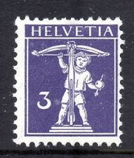 Switzerland - 1909 Definitives Tell Mi. 112 I MH
