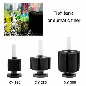 3 Sizes Air Driven Sponge Filter For Aquarium Fish Tank Bio Water Foam Breeding
