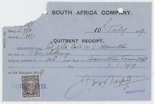 BSAC 1919 Quitret Receipt bearing Admiral 7/6 C468