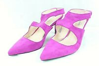 ANDIAMO womens 3 in heel shoes size 9 M fuchsia suede upper AVANT style  NEW