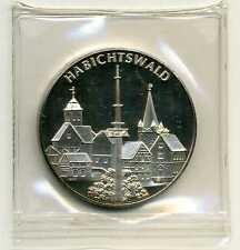 Medaille Habichtswald im Naturpark Habichtswald Silber 999 M_043