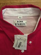 ACNE STUDIOS SS13 NEW Mens ISHERWOOD POP Shirt Size 48 M Medium $210 NWT