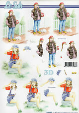Le Suh 3D Bogen Motivbogen Etappenbogen Bastelbogen Mädchen (253)