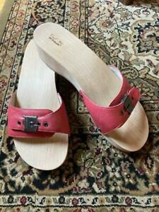 Dr. Scholl's Original Collection Wooden Exercise Sandals Sz. 10M