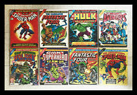 Marvel Treasury Edition MEGA-LOT ! ---8 Amazing Issues all in NM/VF condition